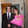 Eliz et moi à son anniversaire
