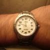 Ma nouvelle montre, sur mon poignet